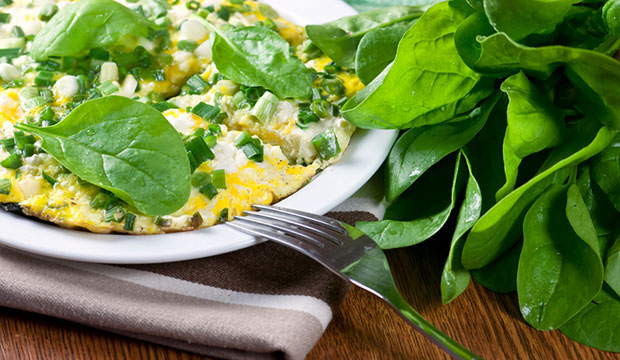 Omelet-with-Spinach