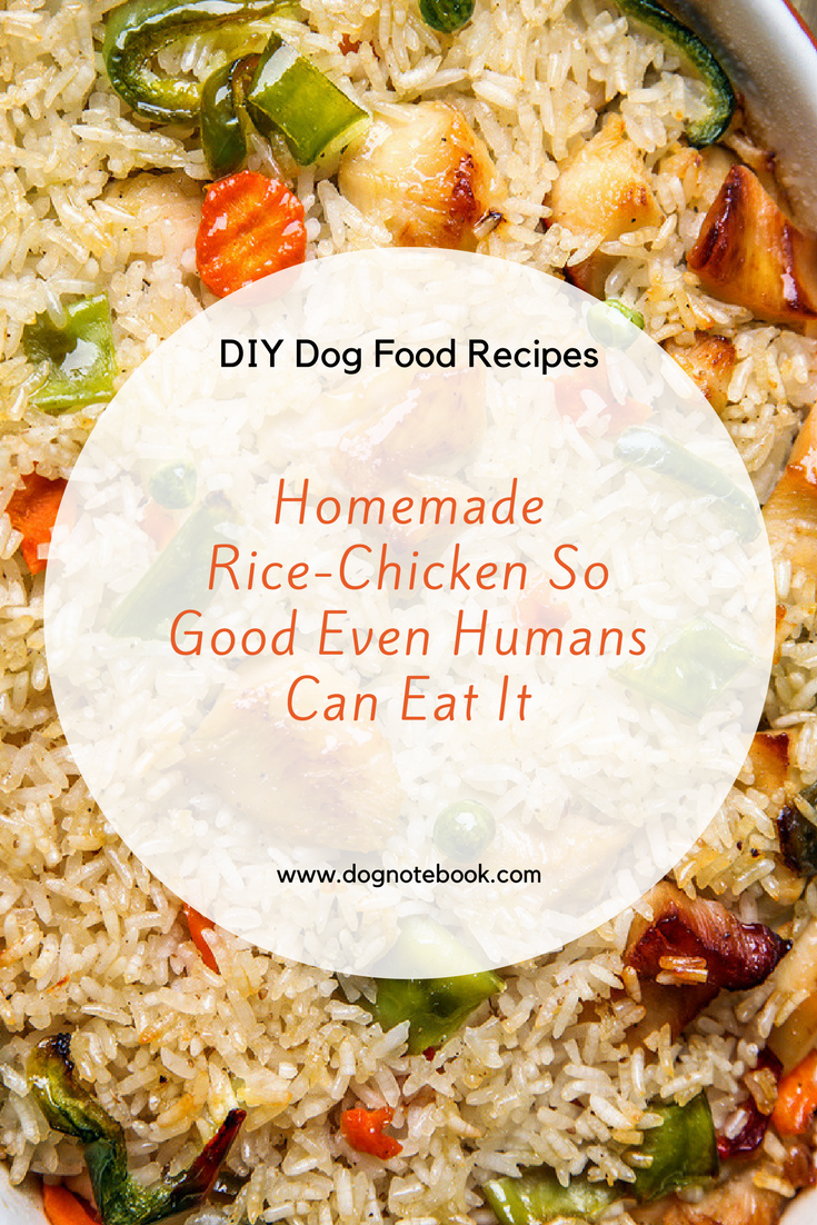 Diy dog food recipes homemade rice chicken so good even humans can diy dog food recipes homemade rice chicken so good even humans can eat it dog notebook forumfinder Image collections